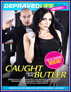 Caught With The Butler Porn DVD