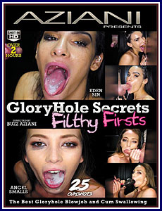 Gloryhole Secrets: Filthy Firsts Porn DVD