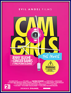 Cam Girls: The Movie Porn DVD