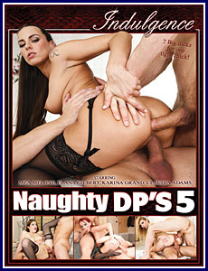 Naughty DP's 5 Porn DVD