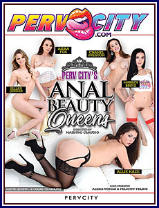 Perv City's Anal Beauty Queens Porn DVD