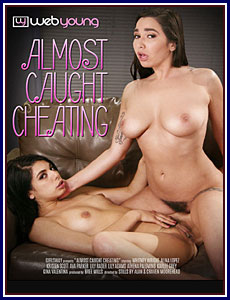 Almost Caught Cheating Porn DVD