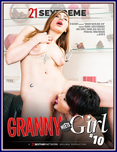 Granny Meets Girl 10 Porn DVD