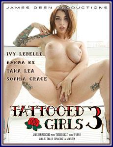 Tattooed Girls 3 Porn DVD