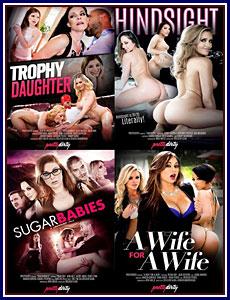 Pretty Dirty 2 4-Pack Porn DVD