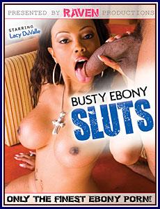 Busty Ebony Sluts Porn DVD