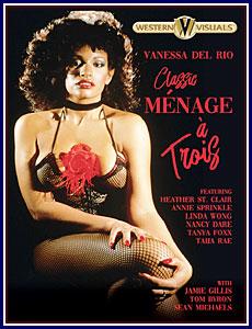 Classic Menage A Trois Porn DVD