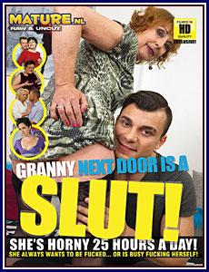 Granny Next Door Is A Slut Porn DVD