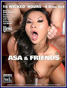 Asa and Friends Porn DVD