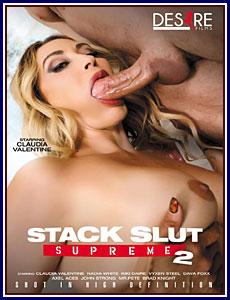 Stack Slut Supreme 2 Porn DVD