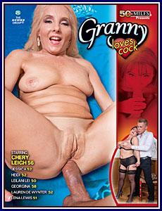Granny Loves Cock Porn DVD