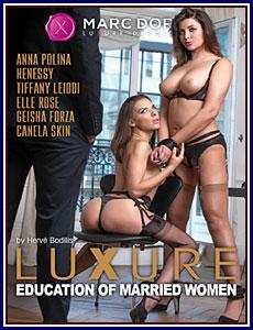 Luxure: Education of Married Women Porn DVD