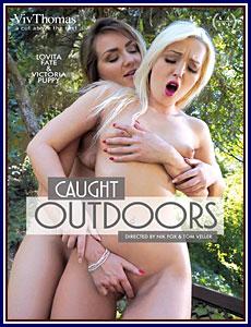 Caught Outddoors Porn DVD