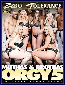 Muthas and Brothas Orgy 5 Porn DVD