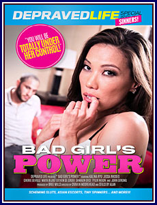 Bad Girl's Power Porn DVD