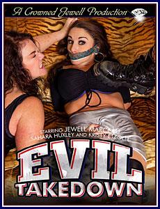 Evil Takedown Porn DVD