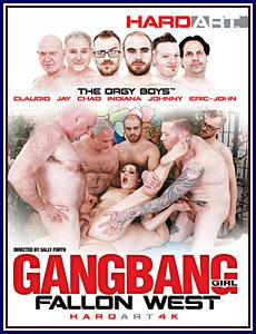 Gangbang Girl Fallon West Porn DVD