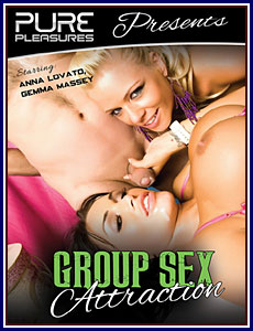 Group Sex Attraction Porn DVD