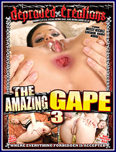 The Amazing Gape 3 Porn DVD