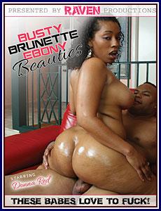 Busty Brunette Ebony Beauties Porn DVD