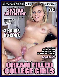 Cream Filled College Girls Porn DVD