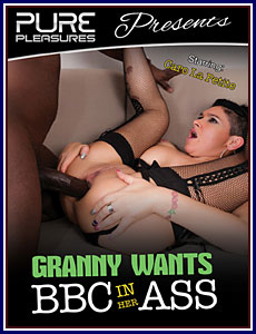 Granny Wants BBC In Her Ass Porn DVD