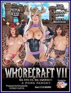 Whorecraft 7 Porn DVD