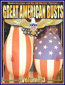 Great American Busts 3 Porn DVD