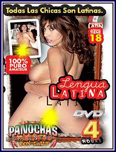 Panochas Calientes - Lengua Latina Porn DVD