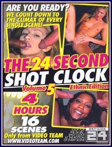 24 Second Shot Clock Ethnic Edition 5 Porn DVD