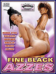 Fine Black Azzes Porn DVD