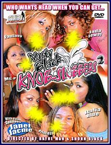 Nasty Black Knob-Slobbers 2 Porn DVD