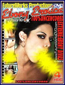 Ebony Erotica 18 Porn DVD