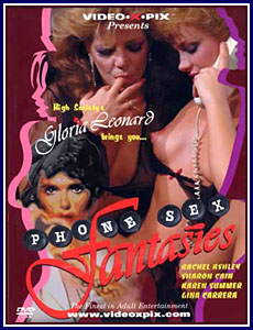 Phone Sex Fantasies Porn DVD