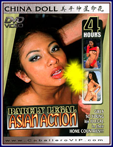 Barely Legal Asian Action Porn DVD