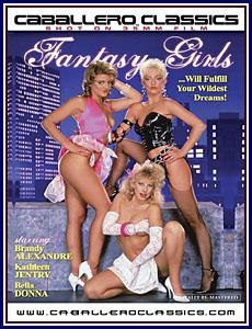 Fantasy Girls Porn DVD