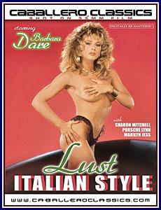 Lust Italian Style Porn DVD