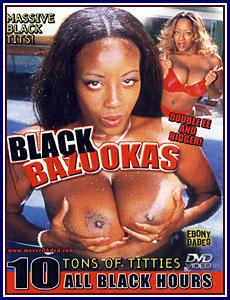 Ebony Babes - Black Bazookas Porn DVD
