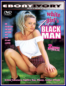 Ebony Ivory - White Girl's 1st Black Man Porn DVD