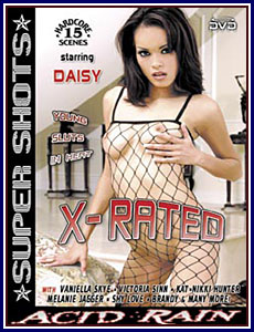 Adult dvd rated x