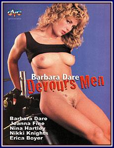 Barbara Dare Devours Men Porn DVD