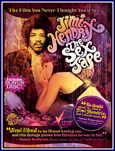 Jimi Hendrix The Sex Tape Porn DVD