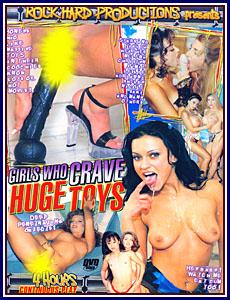 Girls Who Crave Huge Toys Porn DVD