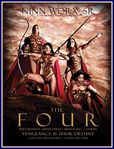 The Four Porn DVD