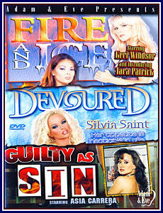 Fire And Ice - Devoured - Guilty As Sin Porn DVD