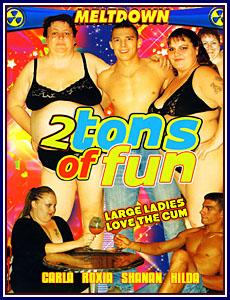 2 Tons of Fun Porn DVD
