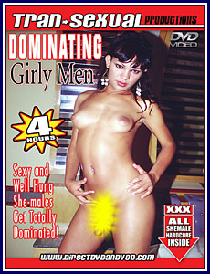 Transexual Productions - Dominating Girly-Men Porn DVD