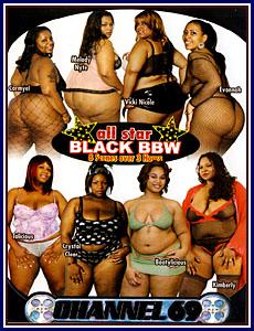 All Star Black BBW Porn DVD