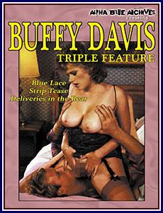 Buffy Davis Triple Feature Porn DVD