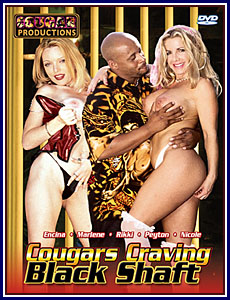 Cougars Craving Black Shaft Porn DVD
